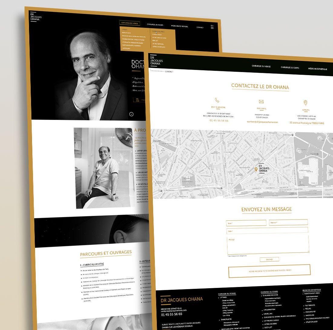 Dr Ohana : Rédaction de contenu médical & creation de site par Antipodes Medical