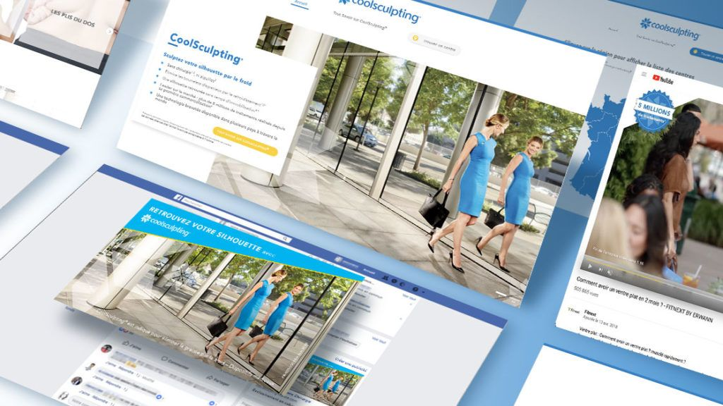 Coolsculpting - Création & Campagne Adwords | Antipodes Medical, Digital Medical