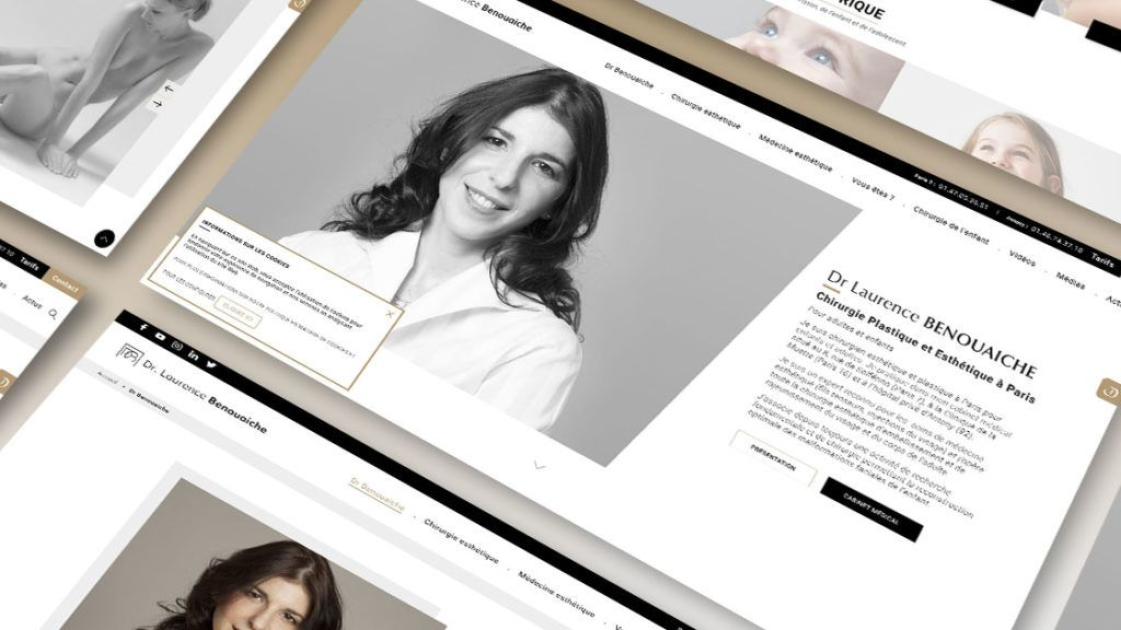 Dr Benouaiche - Refonte de site | Antipodes Medical, Agence Digitale Santé