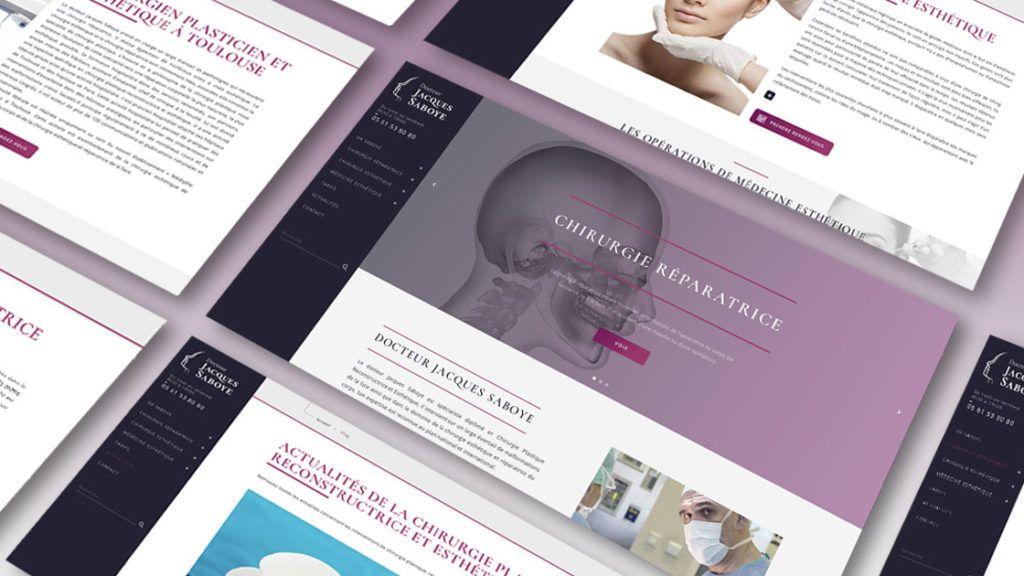 Dr Saboye - Refonte & Référencement   Antipodes Medical, Digital Medical