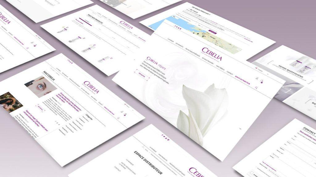 Site e-commerce CEBELIA | Antipodes Medical, Agence Communication Santé