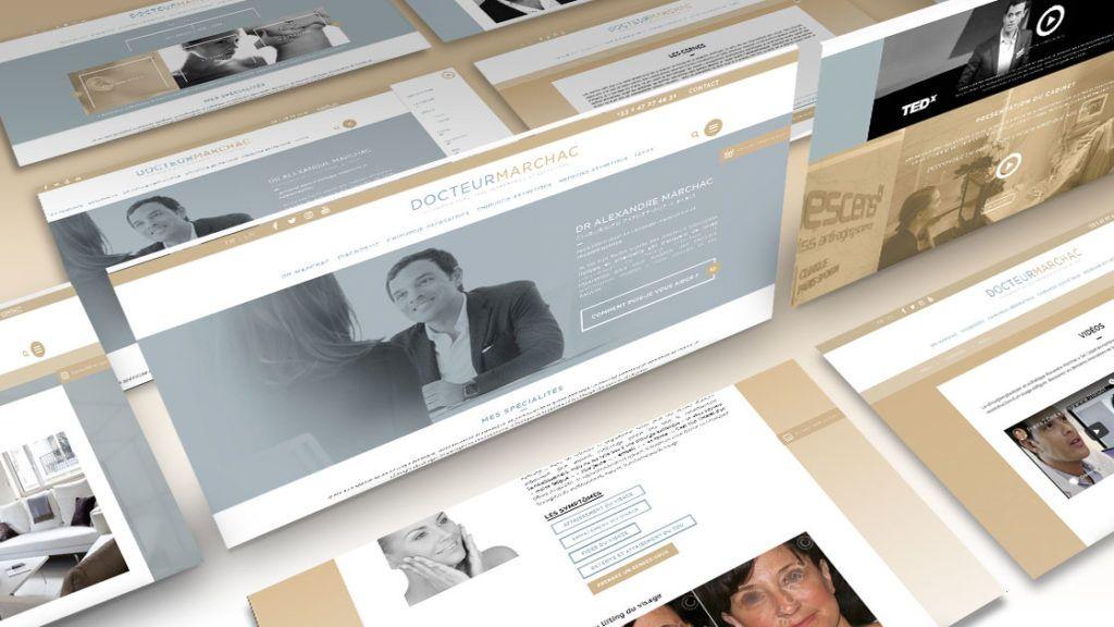 Nos réalisations de site web | Antipodes Medical, Agence Communication Santé