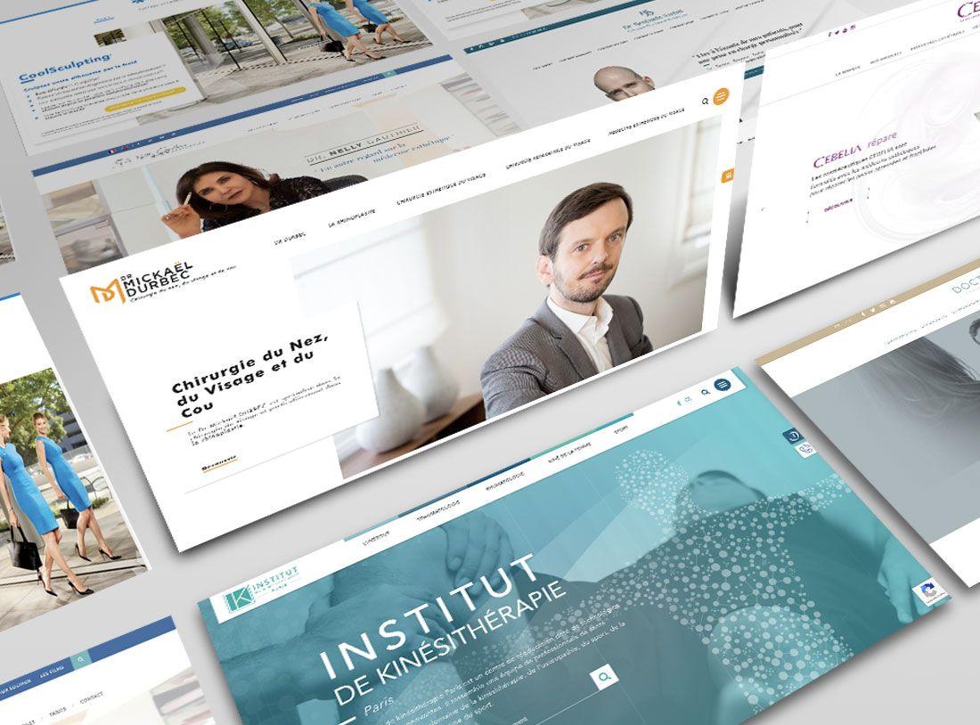 Web Design Medical : l'expérience utilisateur sur votre site par Antipodes Medical
